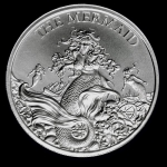 2 Unzen Ultra High Relief The Mermaid Cryptozoology...