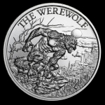 2 oz UHR ULtra High Relief Silver Round - The Werewolf...