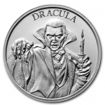 2 oz UHR ULtra High Relief Silver Round - Vintage Horror...
