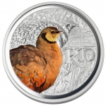 1 oz Silver South Africa Yellow-Thoroated Sandgrouse...