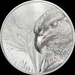 2020 Mongolia 3 oz Silver Majestic Eagle Proof