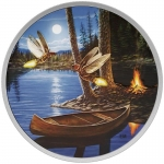 2016 Canada 2 Oz Silber30 CAD  Moonlight Fireflies...