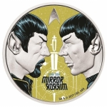 2017 Tuvalu 1 Oz Silber Star Trek Mirror Mirror The...