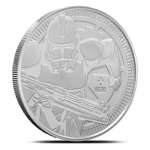 2019  Niue 1 Oz Silber Star Wars Clone Trooper 2 AUD BU