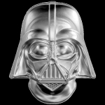 2019  Niue 2 Oz Silber Star Wars Darth Vader Helm 5 AUD...