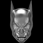 2020 Niue 2 oz Silver $5 DC Comics - Batman - Cowl Ultra...