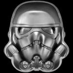 2020 Niue 2 oz Silver $5 Star Wars Stormtrooper Helmet Ultra High Relief