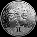 2020 Solomon Islands 1 oz Silver $3,14  Kreiszahl Pi...