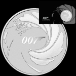 2020 Tuvalu 1 oz Silver James Bond 007 1 AUD in official...