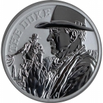 2020 Tuvalu 1 oz Silver John Wayne - The Duke 1 AUD BU