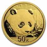 3 g Gold Panda Brilliant Uncirculated 2019