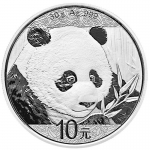 30 g Silber Panda 2018 China