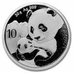 30 g Silber Panda 2019 China