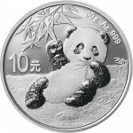 30 g Silber Panda 2020 China