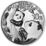 30 g Silber Panda 2021 China
