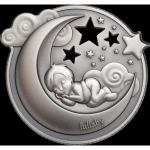 2018 Cook Islands 1 oz Silver Lullaby