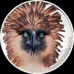 5 $ 2019 Cook Islands -  Philippine Eagle Magnificent...