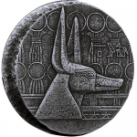 2019 Republic of Chad 5 oz Silver Sphinx of Hatshepsut