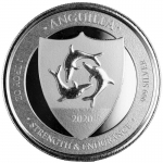 2020 Anguilla 1 oz Silver Coat of Arms (3) EC8