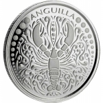 2018 Anguilla 1 oz Silver Lobster (1)  EC8