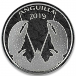 2019 Anguilla 1 oz Silver Lobster (2) EC8