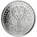 2018 Anguilla 1 oz Silver Lobster EC8