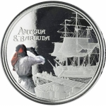 2019 Antigua & Barbuda 1 oz Silver Rum Runner (2)...