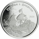 2020 Antigua & Barbuda 1 oz Silver Rum Runner (3) BU