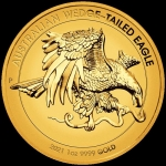 2021 $100 Wedge-Tailed Eagle High Relief 1oz Gold Proof