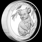 2019 $1 Koala High Relief 1oz Silver Proof