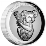 2020 $1 Koala Incused High Relief 1oz Silver Proof