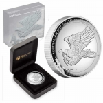 2014 $1 Wedge-Tailed Eagle High Relief 1oz Silver Proof