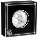 2020 $8 Gilded High Relief Kookaburra 5oz Silver Proof