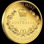 2019  $50 Double Sovereign 200th Annive3rsary Queen...