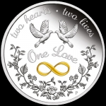 2021 $1 One Love 1oz Silver Proof