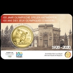 Belgien 2,5 Euro 100th Anniversary of Olympic Games in...