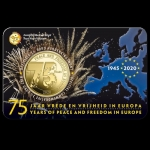 Belgium 2,5 Euro 75 Anniversary Freedom End of WWWII 2020 French Version