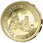 Belgium 50 Euro Gold Euro Star 450th Anniversary of Death...