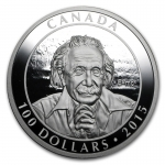 2015 Canada Silver 10 oz Proof Einstein Theory of Relativity