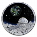 Canada 20 $ Dollar 1 Oz Silber UNiverse Opal Proof