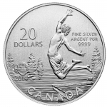 2014 $20 for $20 Summertime  - Pure Silver Coin Canada