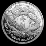 2019 1 oz China Long-Whiskered Dragon Restrike Four 999...