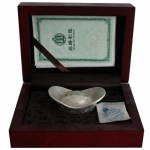 China 60 g Silver Maitreya Buddha for the Future Antique...