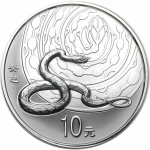 1 oz Silver China Lunar Year of the Snake Coin 2013  ren...