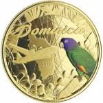 2019 Dominica 1 oz Gold Nature Isle Parrot EC8...