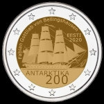 Estonia 2 Euro 200th Anniversary of the Discovery of...