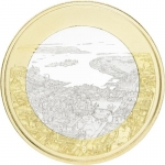 Finland 5 Euro 2018 Finnish National Landscapes Maritime...