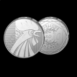 10 Euro France 2015 Silver Gallian Rooster 17 g Silver