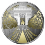 France 10 Euro Silver Treasures of Paris (8.) -...