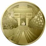 France 50 Euro Gold Treasures of Paris (8.) -...
